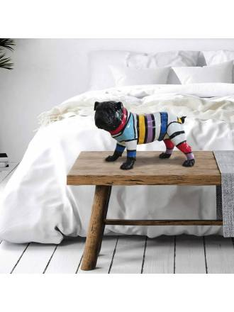 SCHULLER Bulldog PQ figure striped