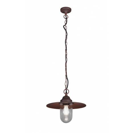 Lámpara colgante Brenta E27 IP44 - Trio