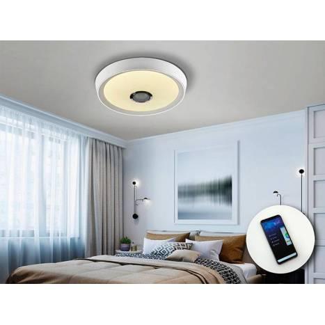 SCHULLER Jazz 30w RGB music ceiling lamp