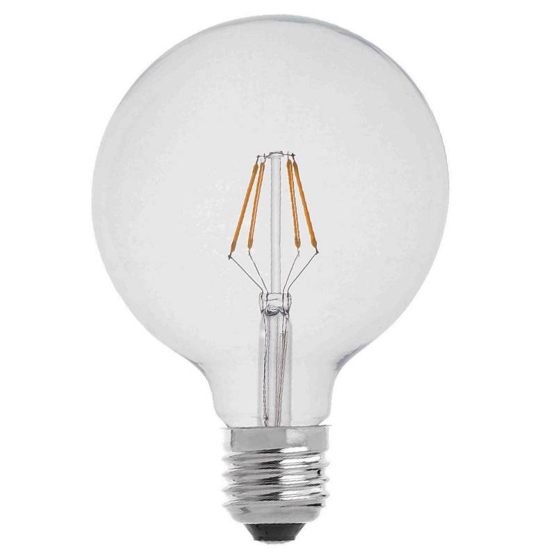 Bombilla LED 6w E27 230v globo vintage de Maslighting
