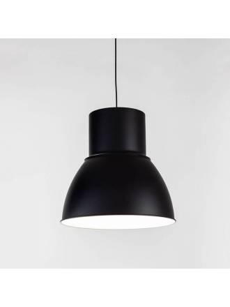 Lámpara colgante Hat E27 negro - Kelektron
