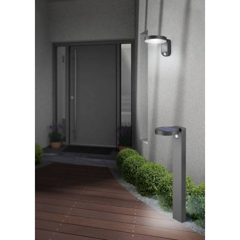 Aplique de pared Posadas Solar LED IP44 - Trio