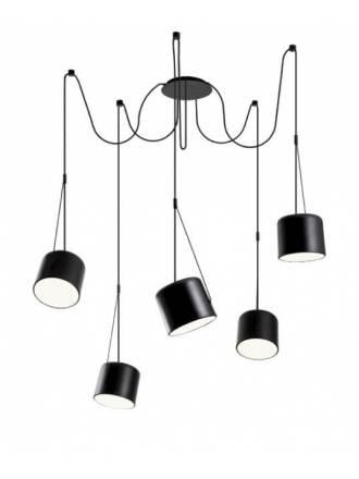 REDO Dodo E27 pendant lamp metal