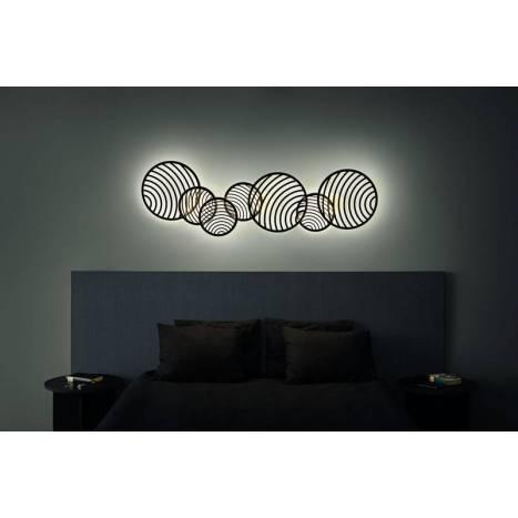 Plafón/Aplique Collage LED 40w 68x40 - Mantra