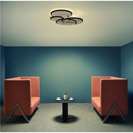 Plafón de techo Collage LED 60w 69x63 - Mantra