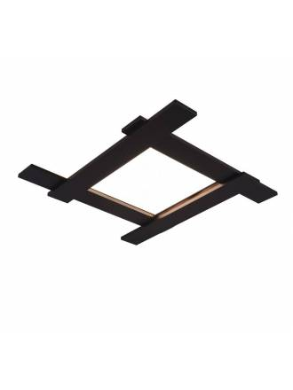 TRIO Belfast 18w + 3.5w LED ceiling lamp