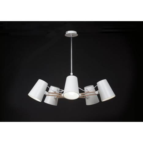 Mantra Looker pendant lamp 5 arms