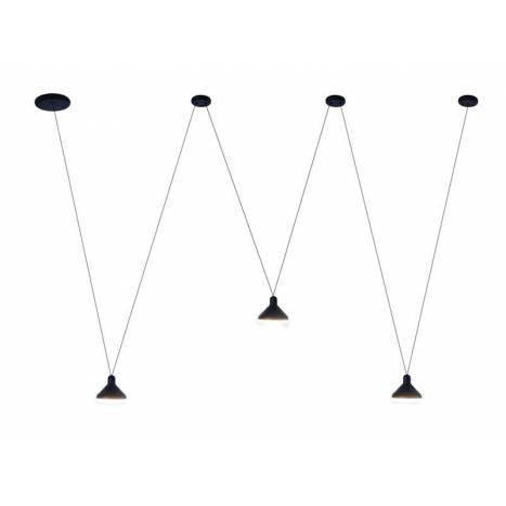 Lámpara colgante Antares 3L LED 24w - Mantra