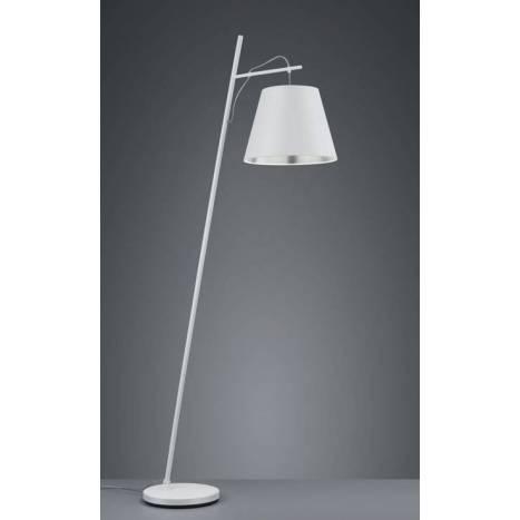 TRIO Andreus 1L E27 fabric floor lamp