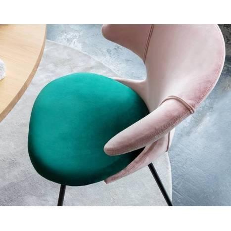 Silla Time Flies tapizada - Umage