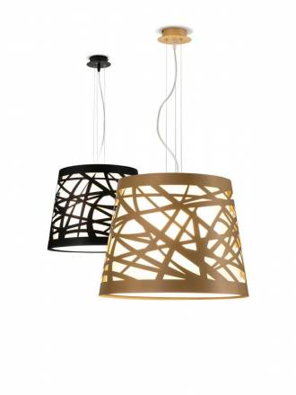 ILUSORIA Tape E27 metal pendant lamp