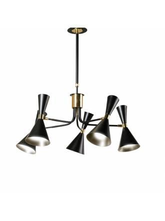 Lámpara de techo Step 5l metal - Ilusoria