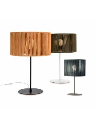 ILUSORIA Corda E27 textil table lamp