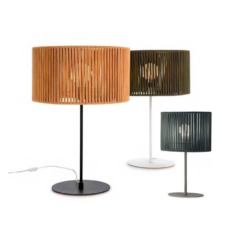 ILUSORIA Corda E27 textil table lamp