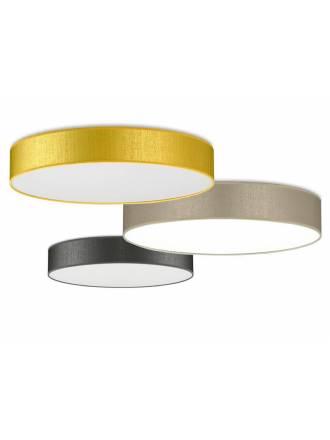 Plafón de techo Silkette LED 36w tela - Ilusoria