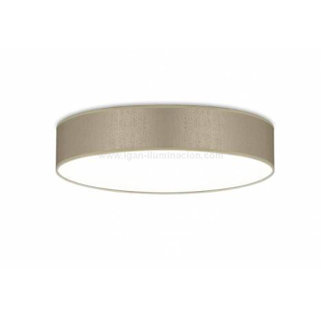 ILUSORIA Silkette LED 36w fabric ceiling lamp
