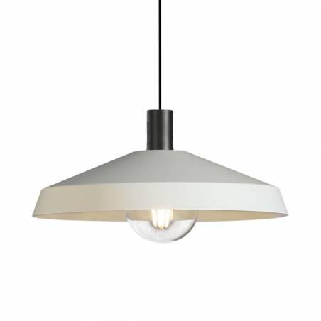Lámpara colgante Evelyn E27 blanco - ACB