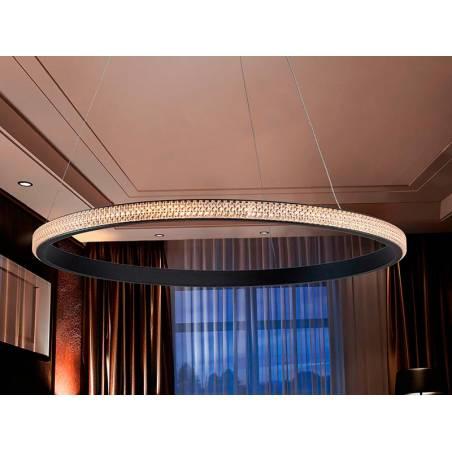 Lámpara colgante Ring LED 25w ambiente Schuller