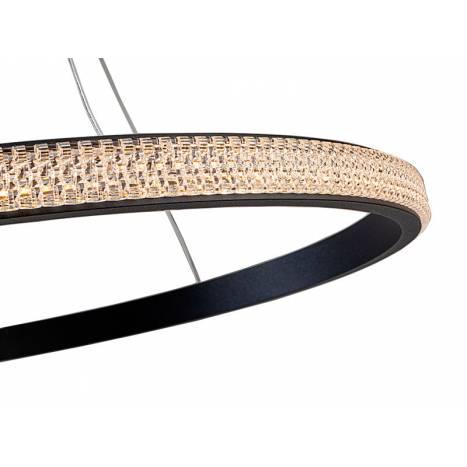 Lámpara colgante Ring LED 25w detalle Schuller