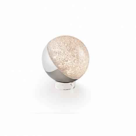 SCHULLER Sphere LED chrome 12cm table lamp