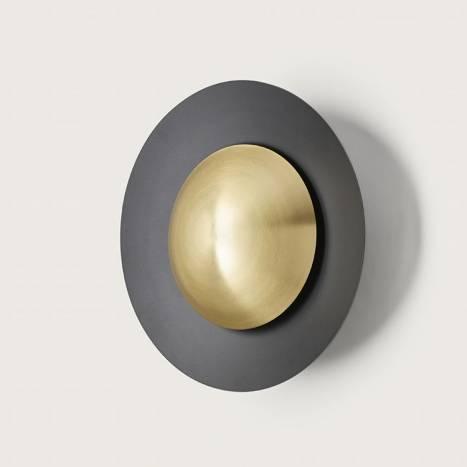 AROMAS Coss LED wall lamp black