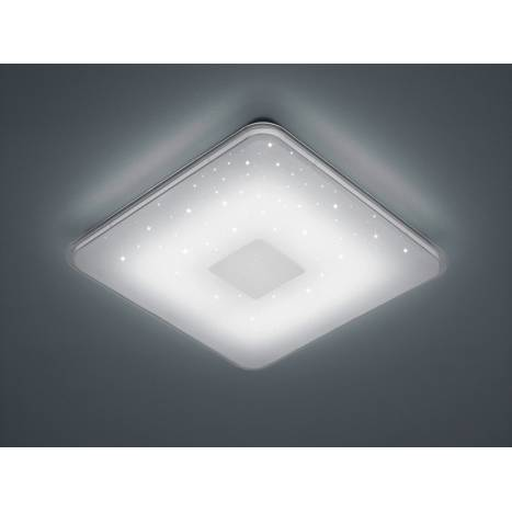 TRIO Samurai LED 21w dimmable ceiling lamp ambient