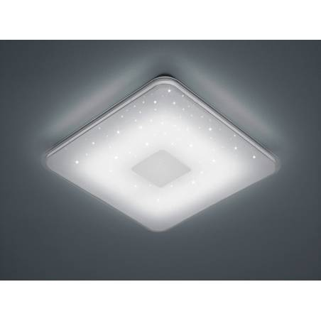 Plafón de techo Samurai LED 21w regulable + mando ambiente - Trio