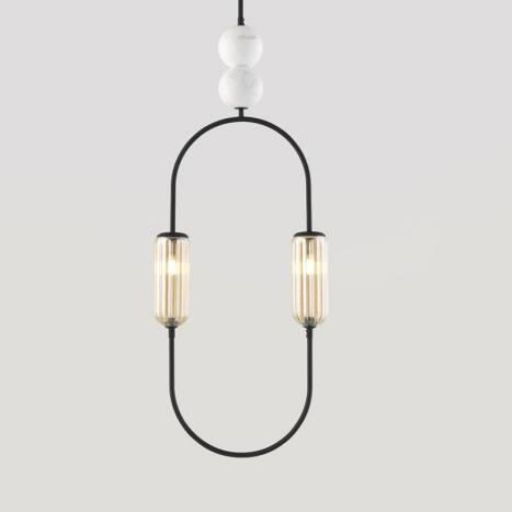 AROMAS Clip 2L G9 pendant lamp detail