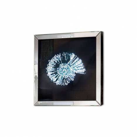 Schuller Fosil mirror frame 60x60 beveled