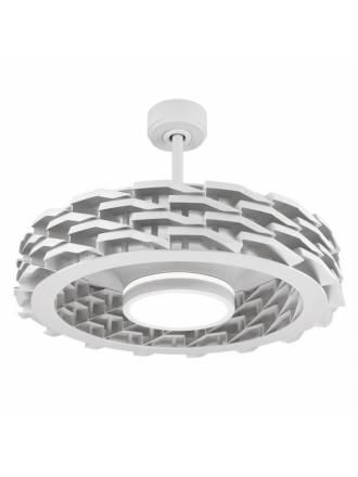Ventilador de techo Rubik WIFI DC LED 73cm blanco - Sulion