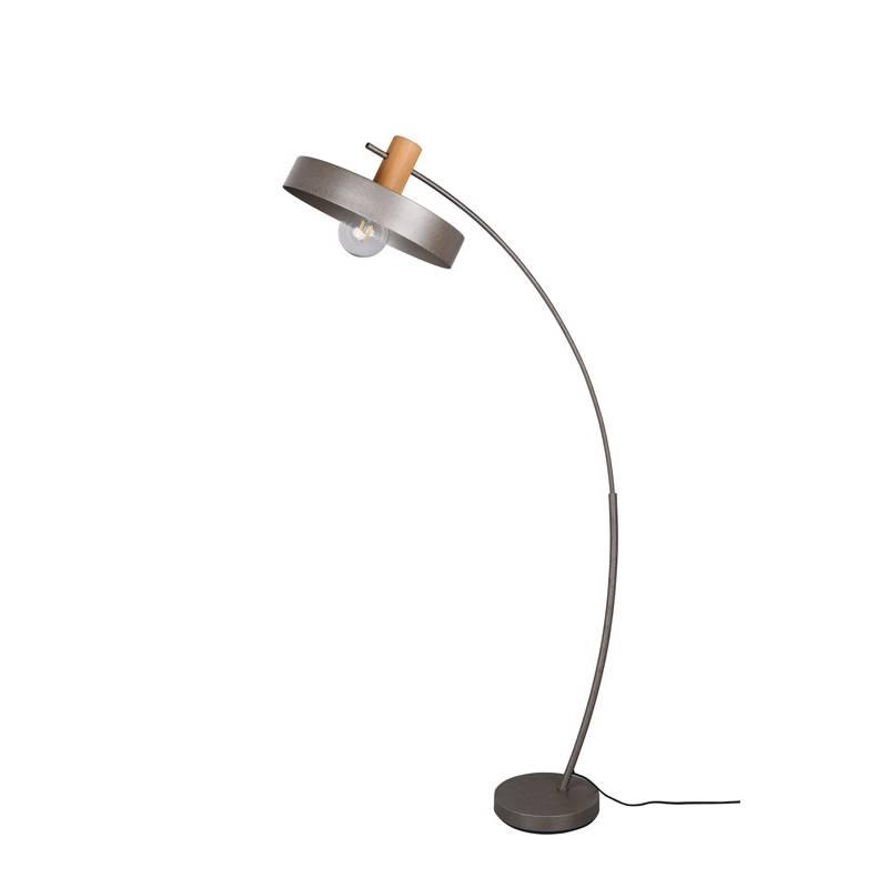 TRIO Gaya E27 wood floor lamp