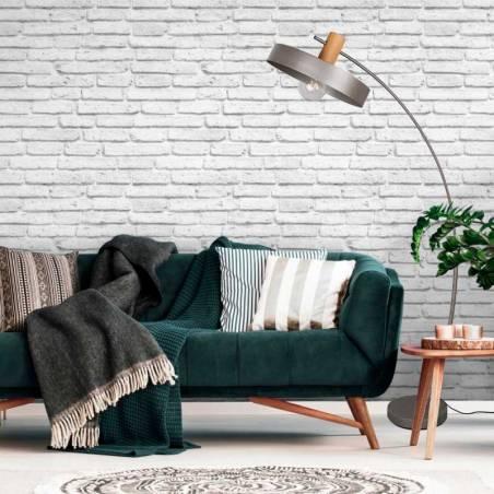 Lámpara de pie Gaya E27 madera ambiente - Trio 1