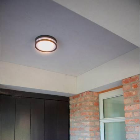 LUTEC Rola LED 13w aluminium wall lamp ambient