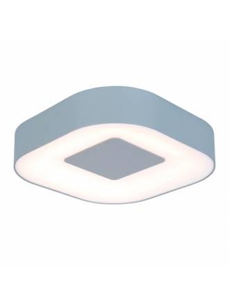 Plafón de techo Ublo LED 16w IP54 cuadrado - Lutec