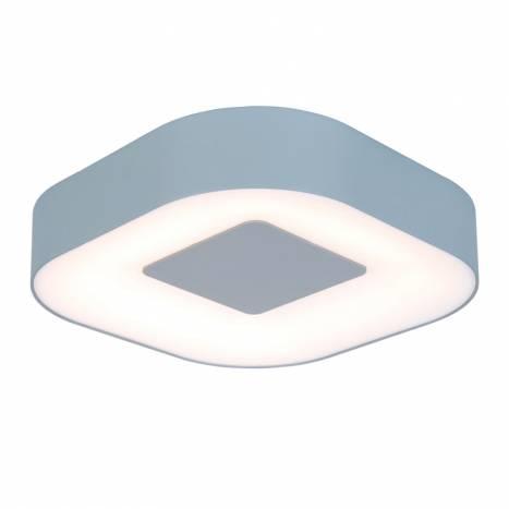LUTEC Ublo LED 16w IP54 square ceiling lamp