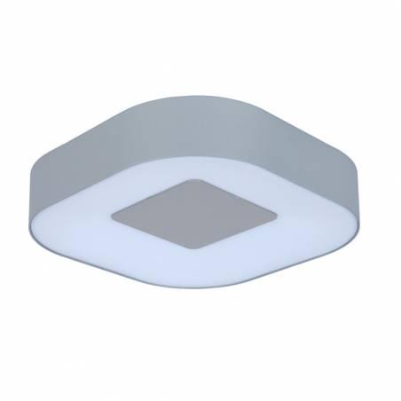 LUTEC Ublo LED 16w IP54 square ceiling lamp 1