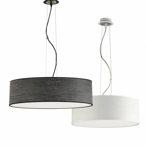 ILUSORIA Wood LED + remote control pendant lamp models
