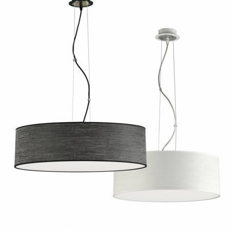 Lámpara colgante Wood LED + mando modelos - Ilusoria