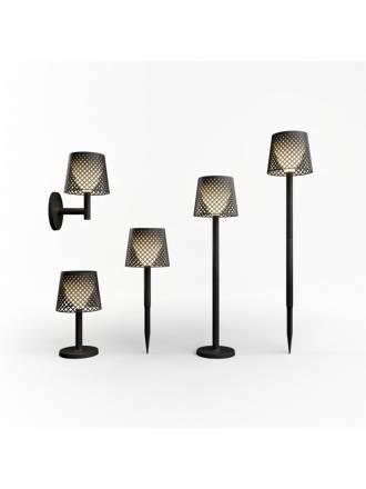 Lámpara Greta Solar + recargable (5 en 1) negro - Newgarden