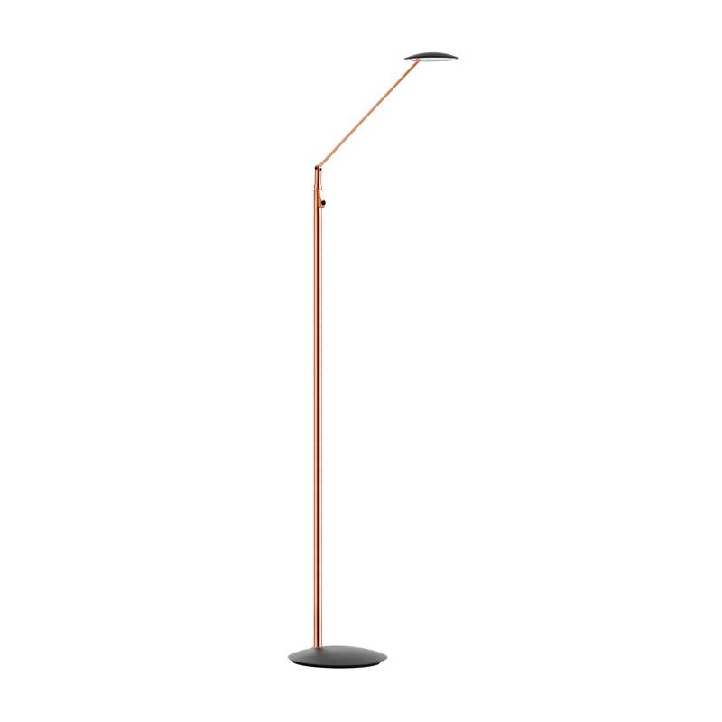 MDC Sione LED 7w dimmable copper anthracite reading lamp