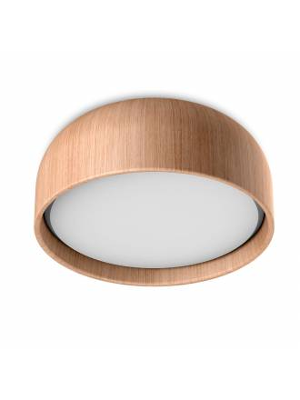 MDC Tokio 3L E27 IP44 wood oak ceiling lamp