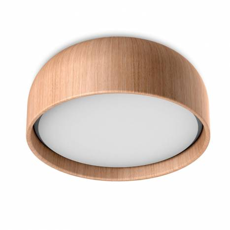 MDC Tokio 3L E27 IP44 wood oak ceiling lamp