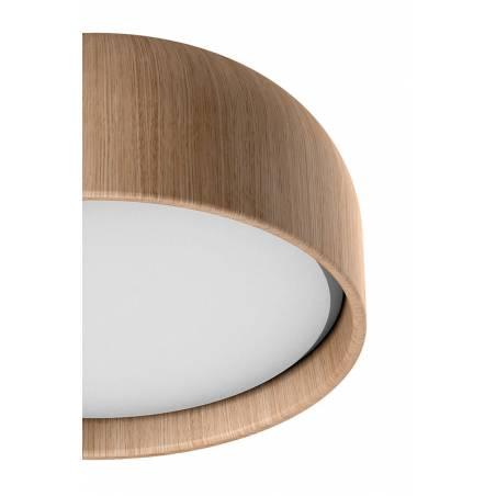 MDC Tokio 3L E27 IP44 wood oak ceiling lamp detail