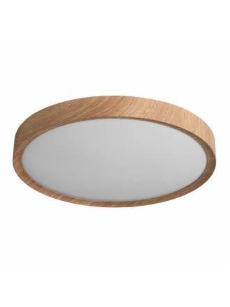 Plafón de techo Asli App LED + mando madera - MDC