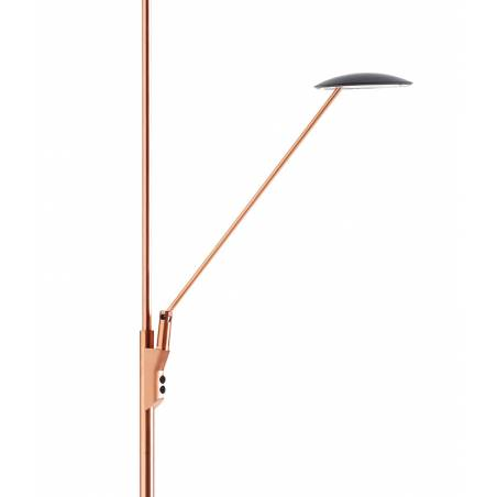 MDC Sione LED 30+7w dimmable copper arm floor lamp