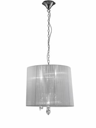 Mantra Tiffany pendant lamp 50cm chrome