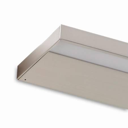 MDC Thina LED IP44 bathroom nickel wall lamp detail
