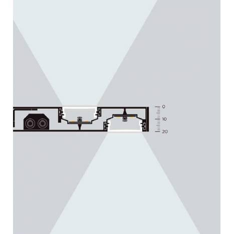 MDC Thina LED IP44 bathroom nickel wall lamp scheme