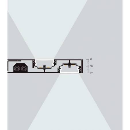 Aplique de baño Thina LED IP44 esquema - MDC