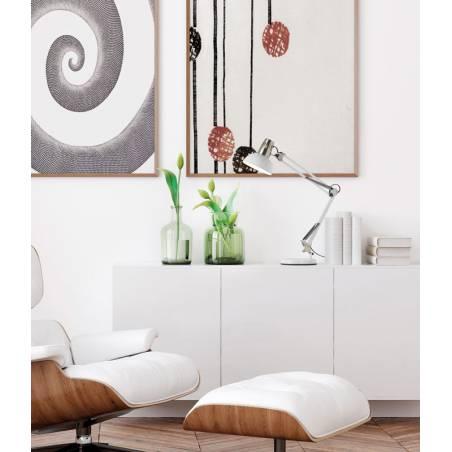 MDC Artic E27 base + gripper white flexo lamp ambient